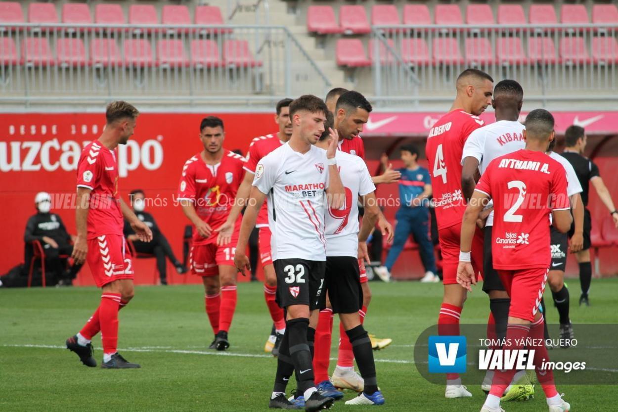Sevilla Atlético vs UD Tamaraceite    Foto: Tomás Yáñez (VAVEL)