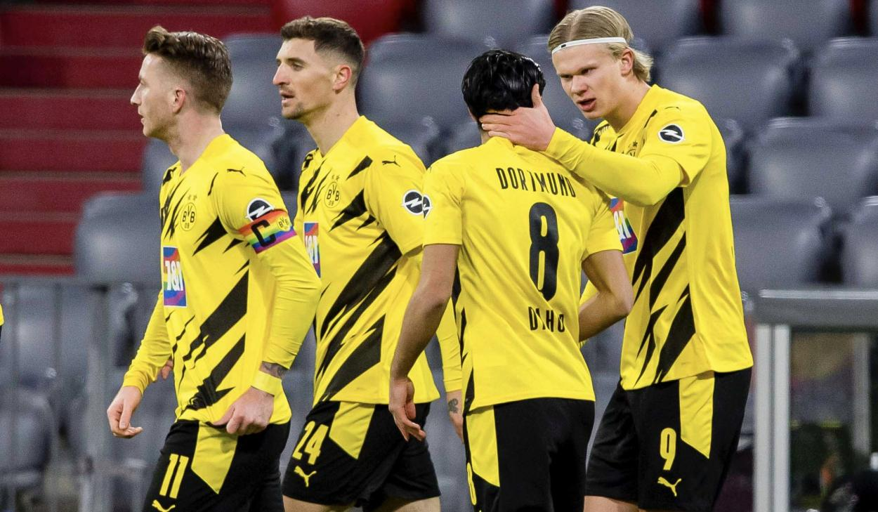 El Dortmund empezó lanzado / FOTO: @BVB