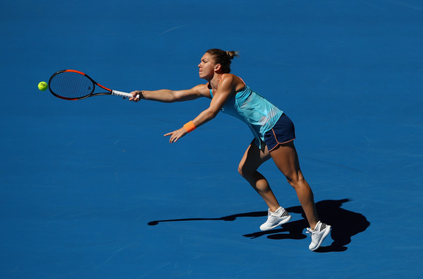 Since reaching back-to-back quarterfinals at the Australian Open in 2014 and 2015, Halep has lost in the first round in two successive years (Photo by Cameron Spencer / Getty)