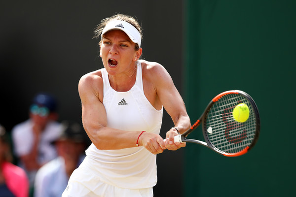 Halep was gone under the radar at Wimbledon but she is a good player on all three surfaces (Photo by Clive Brunskill / Getty)