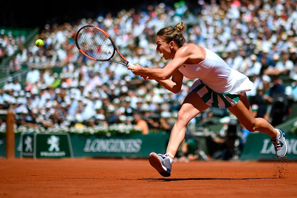 The former world number two was unable to get over the line (Photo by Eric Feferberg / Getty)