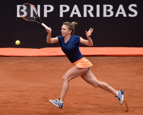 The sixth seed is looking to extend her winning streak into the French Open (Photo by Giuseppi Bellini / Getty)