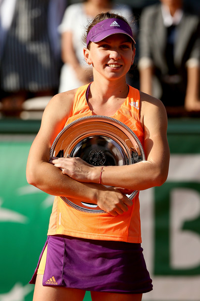 The Romanian reached her solitary Grand Slam singles final at the French Open in 2014 (Photo by Matthew Stockman / Getty)