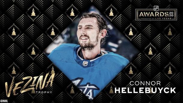 Connor Hellebuyck NHL.com