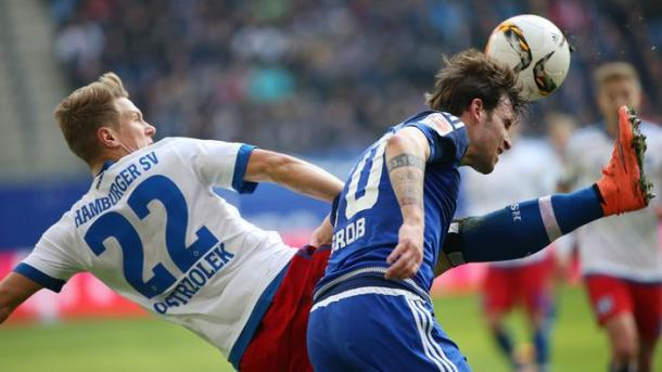 It was a feisty affair in Hamburg.