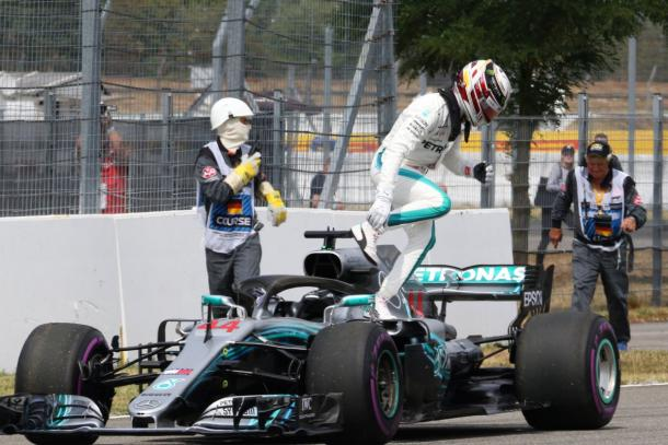 Foto F1 Twitter