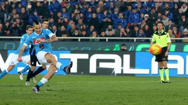 Marek Hamsik, 400 presenze con il Napoli - Foto: it.eurosport.com