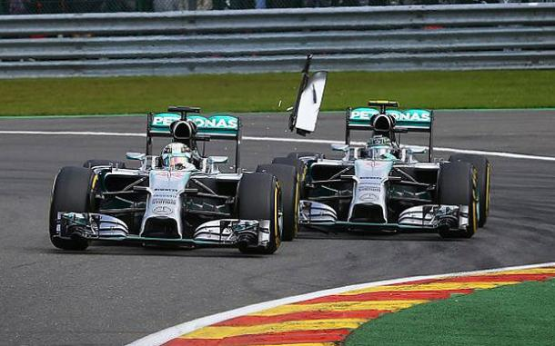 Belgium 2014: Where the rivalry of Hamilton and Rosberg intensified