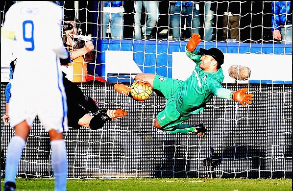 Handanovic' superb point blank save - Atalanta | Photo: inter.it
