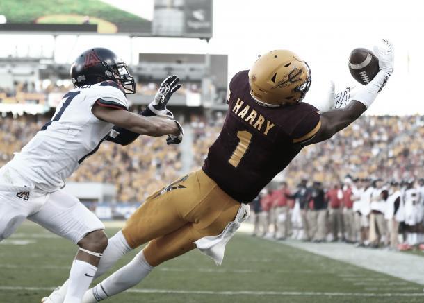 Harry es quizás el mejor WR de esta camada. Foto: NFL