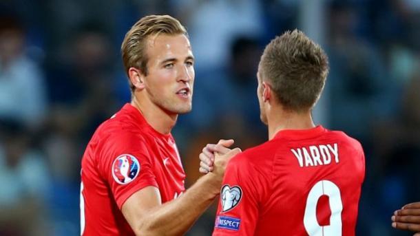 Kane y Vardy, delanteros del año. Foto: Fox Sports