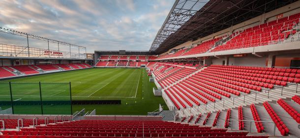 City Arena Stadium, Trnava | Photo: www.hasil.sk