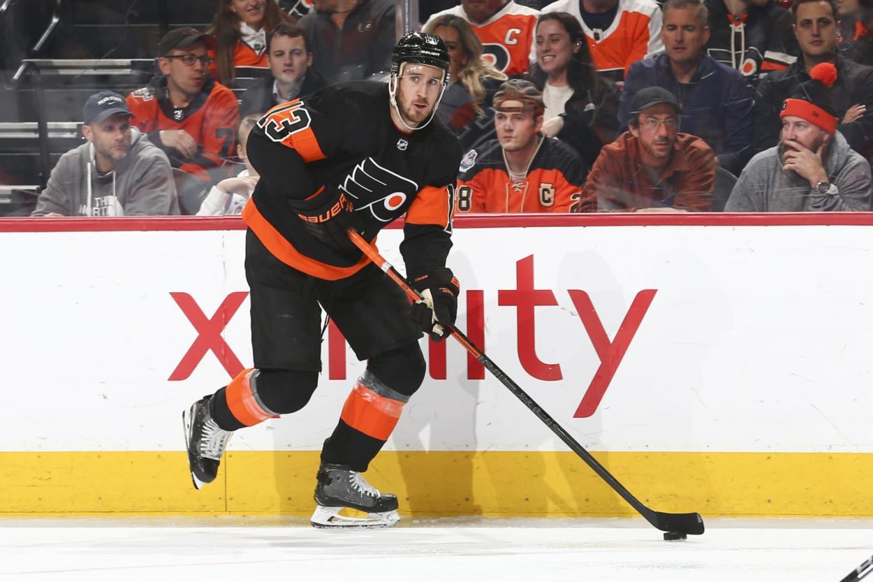 Kevin Hayes da un paso adelante con los Flyers | Foto: broadstreetbuzz.com