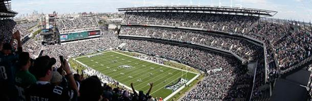 Lincoln Financial Field lleno para un partido de los Eagles. Fuente: Philadelphia Eagles