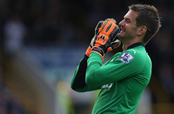 Tom Heaton will be key to Burnley's survival chances (photo: Getty Images)