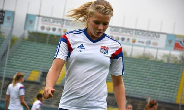 The usually prolific Hegerberg blew a number of chances on a frustrating night for Lyon (Source: Alchetron)