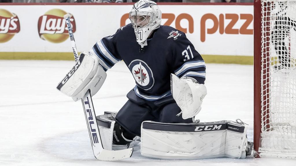 Connor Hellebuyck   Foto: NHL.com