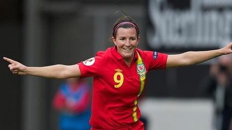 Wales' all-time top goal scorer and leading goalscore in the group, Helen Ward, has once again been capped | Credit: @FAW