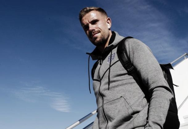 Henderson en su arribo a Samara | Foto: England