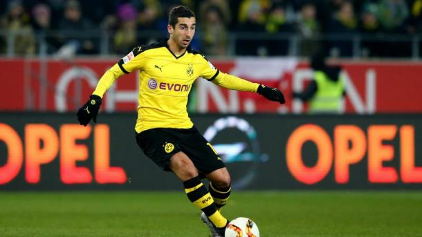 Mkhitaryan's agent is keen on pushing the deal through (Photo: Getty Images)