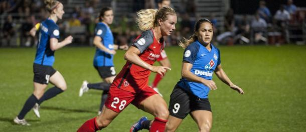 Amadine Henry, midfielder for the Portland Thorns | Photo: ISI Photos