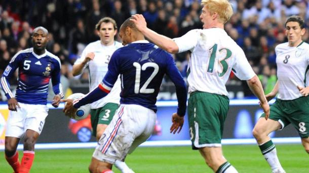 Henry's handball in 2009 (photo; Getty Images)