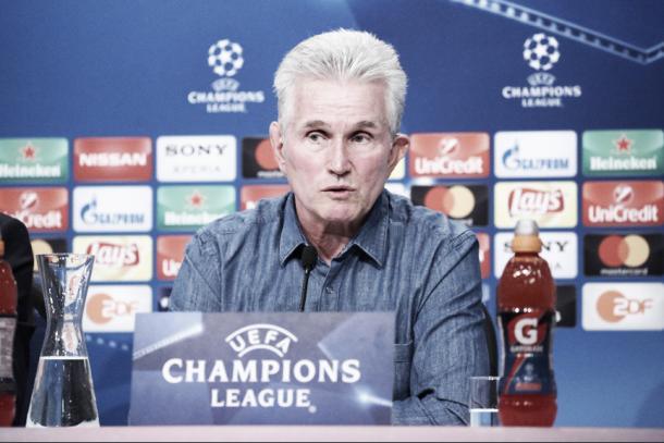 El entrenador del Bayern en conferencia | Foto: @FCBayernES
