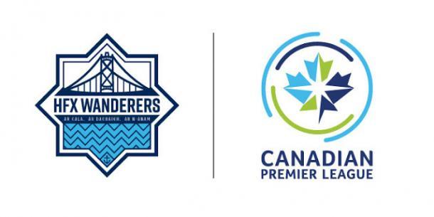 Escudo HFX Wanderers. Fuente: CPL