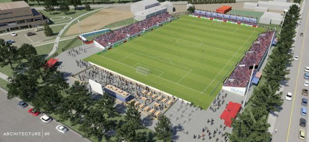 Estadio temporal de HFX Wanderers. Fuente: CPL