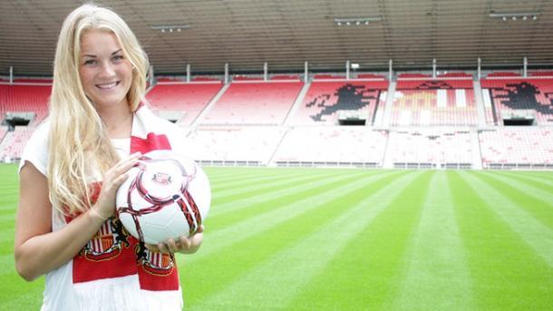 Olsen has been a star for Sunderland since arriving. | Image source: Sunderland Ladies