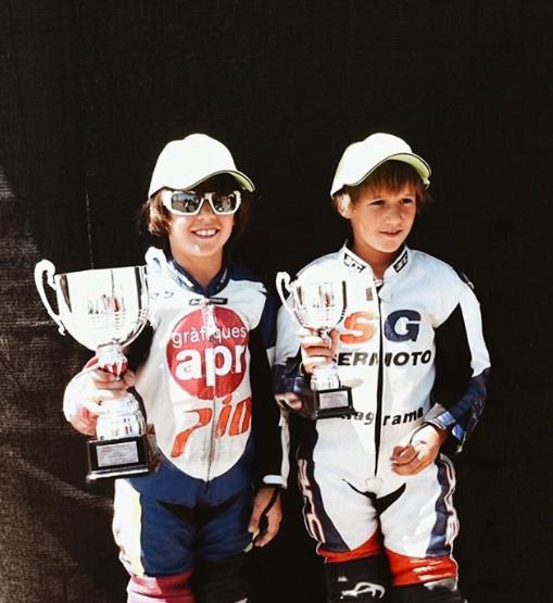 Sumando trofeos y experiencias, a la derecha Sergio García,año 2012. Foto: Blog personal de Andreas Pérez.