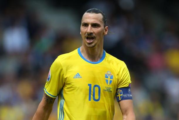 Ibrahimovic had a disappinting Euro 2016 with Sweden | Photo: Getty