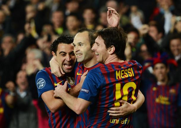 The trio were central to Pep's Barca success | Photo: bleacherreport.com