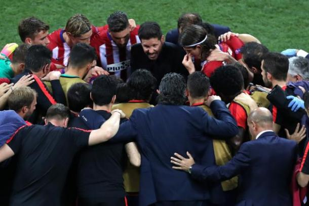 Diego Simeone unites Atletico Madrid like nobody else can | Photo: Alessandro Tarantino/Associated Press
