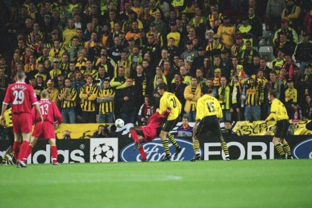 It's been 15 years since the Reds visited Signal Iduna Park. (Photo: Bleacher Report)