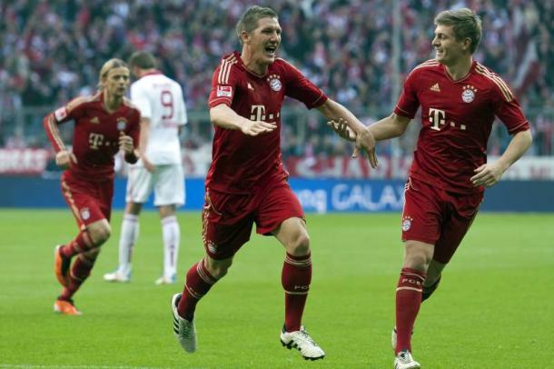 Toni Kroos y Bastian Schweinsteiger, una sociedad de lujo en el Bayern | Foto: Bleacher Report