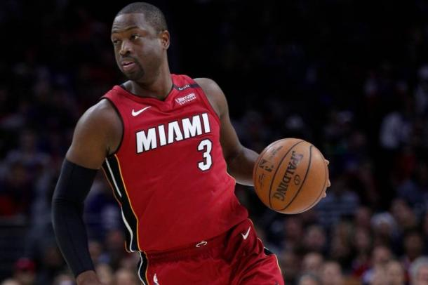 Wade en acción la pasada temporada con Miami | Foto: AP