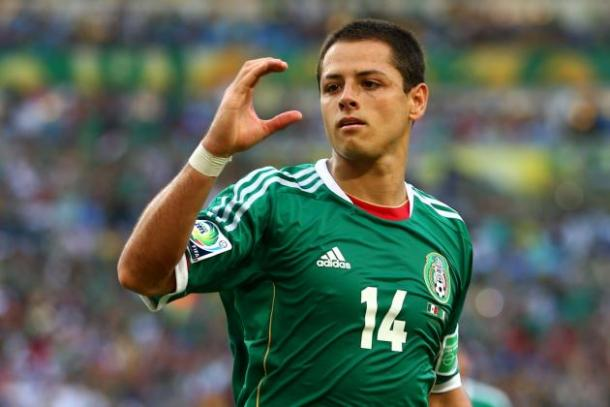 Javier Hernandez enters the tournament in the best form of his life and will be looking to guide El Tri to solid start on Sunday. Photo provided by Getty Images.