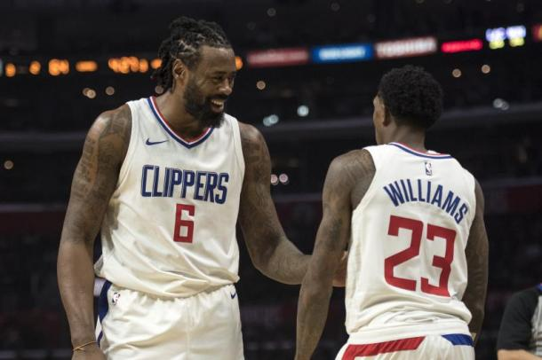 Cleveland sueña con DeAndre Jordan y Lou Williams. | Fotografía: Kyusung Gong / Associated Press