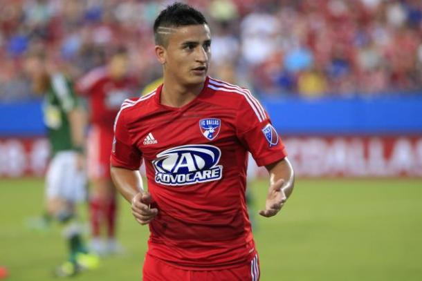 For FC Dallas offense to get back insync, Mauro Diaz will need to be the engine that runs it. Photo provided by Kevin Jairaj- USA TODAY Sports.