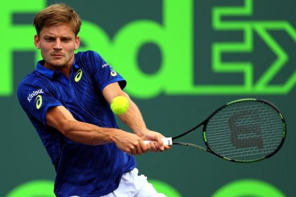 Not to be for Goffin as he falls at the Masters 1000 semifinal stage for the second time in two weeks. Photo: Getty Images