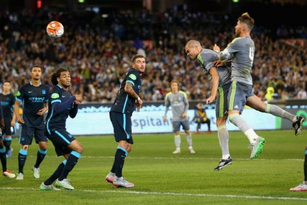 City e Real nel match di ICC la scorsa estate. Fonte: Reuters.