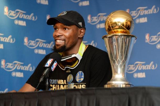 Warriors campioni NBA, Durant nominato MVP delle Finali
