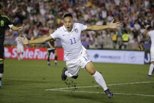 Bobby Wood should get the nod in the starting line up on Saturday against Bolivia. Photo provided by AP.