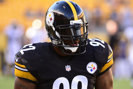 Age has not slowed down James Harrison | Source: Fred Vuich/Associated Press