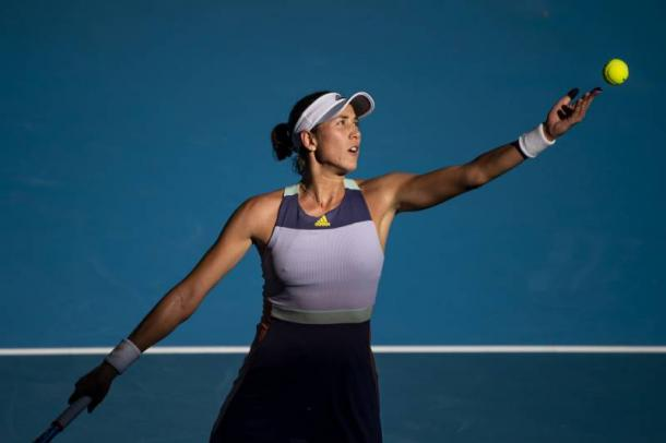 Muguruza is on the verge of her third major title/Photo: TPN via Getty Images
