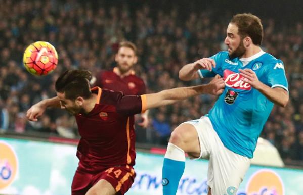 Roma-Napoli sarà anche Manolas contro Higuain | laRoma24