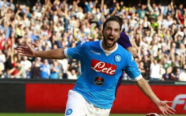 Higuain scored 36 goals last season (photo; Getty)