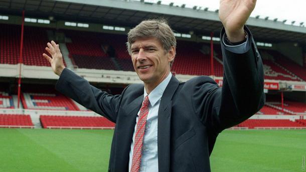 Wenger en sus primeras temporadas con el Arsenal | Fotografía: Arsenal