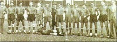 Plantel del Atlético Municipal   Foto: Archivo fotográfico